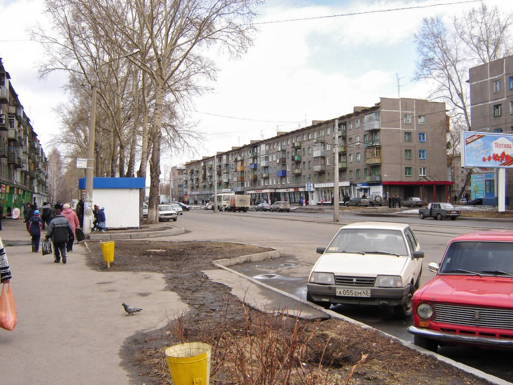 Улица Тореза. Заводской район. Новокузнецк