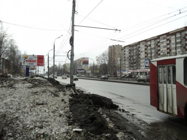 Удмуртская – центральная улица Индустриального района