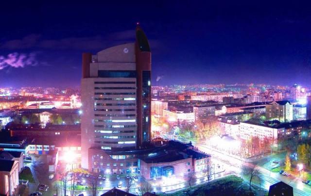 Уфа. Ночной центр