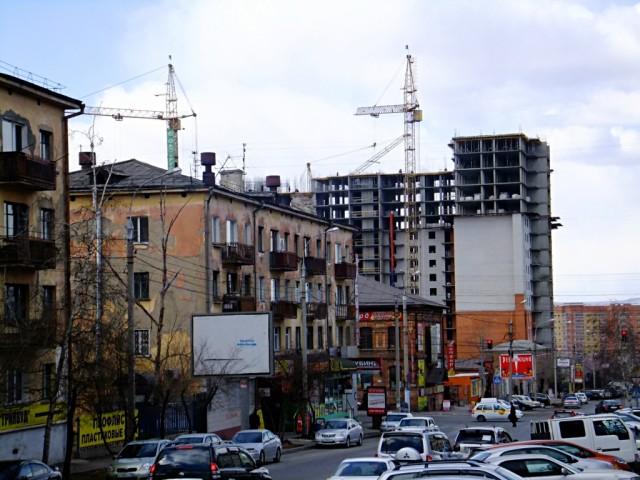 Улица Чкалова в Чите