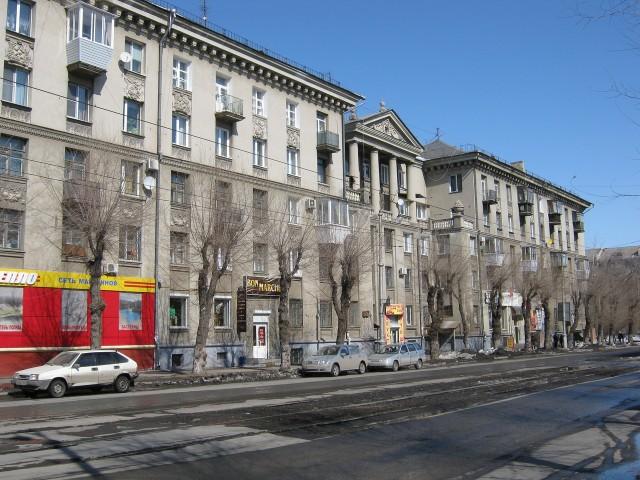 Улица Ленинградская