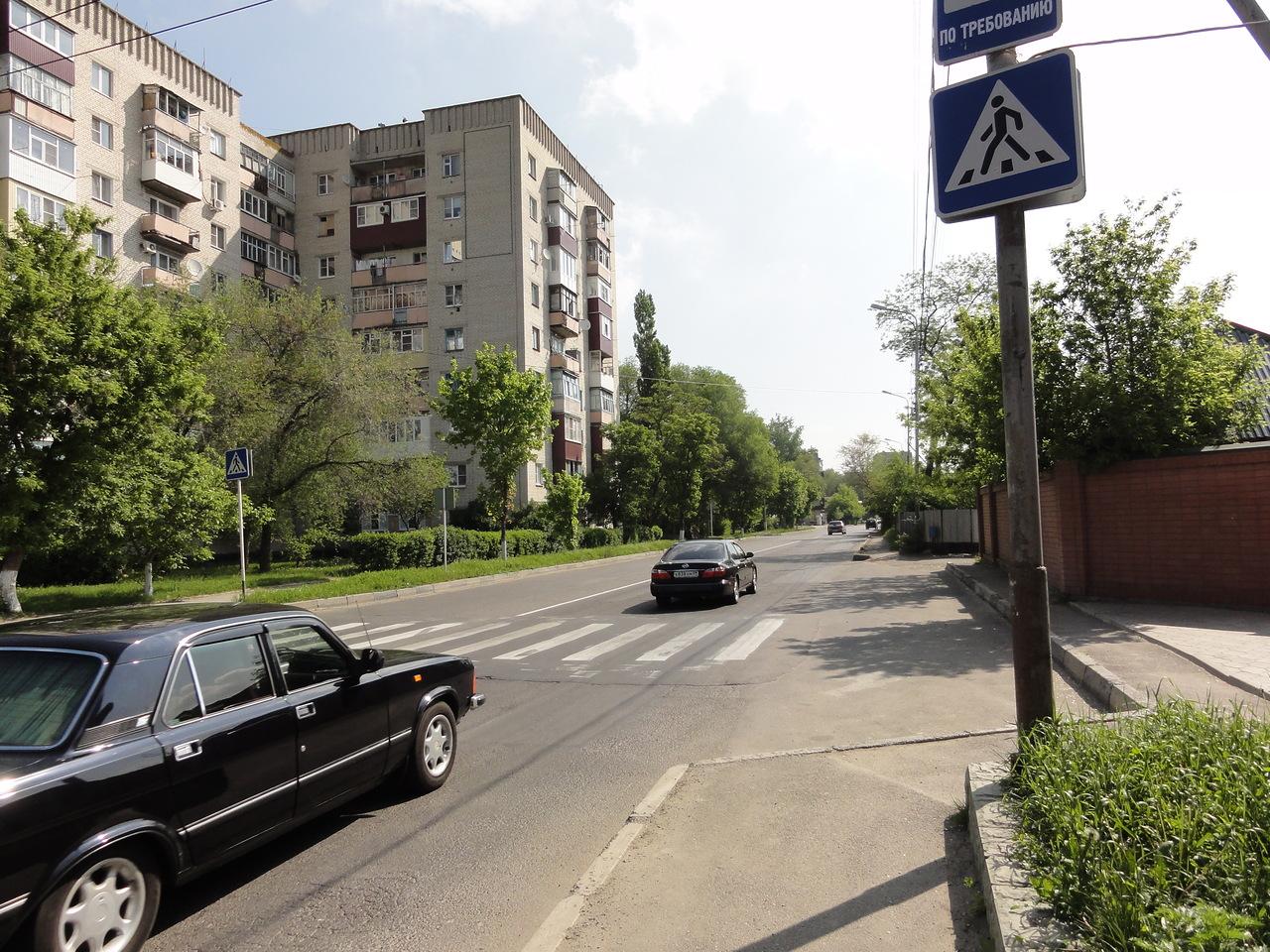 схема расположения улиц частного сектора в хосте