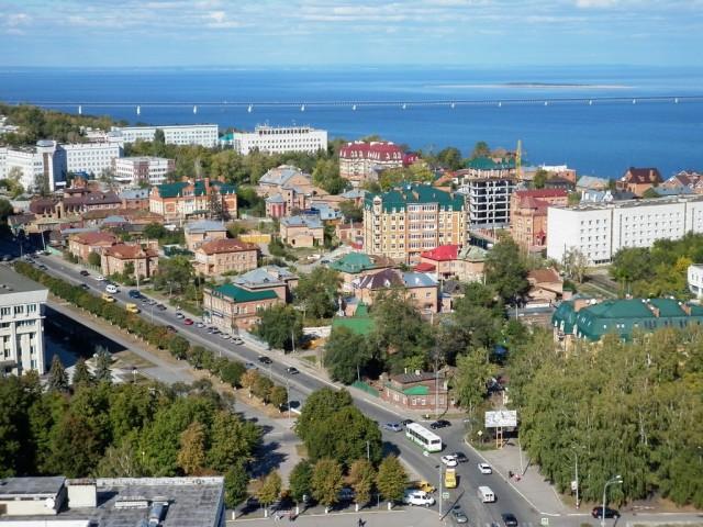 Ульяновск. Железнодорожный мост через Волгу