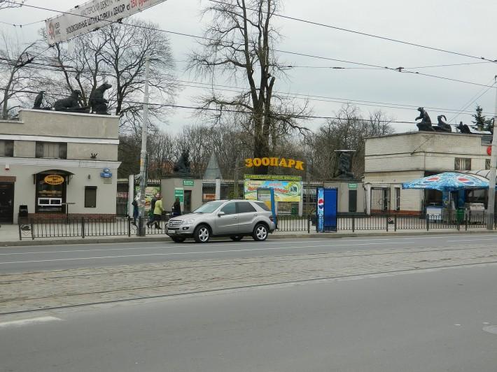 Вход в Калининградский зоопарк