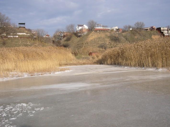 Вид с моря на Михайловку