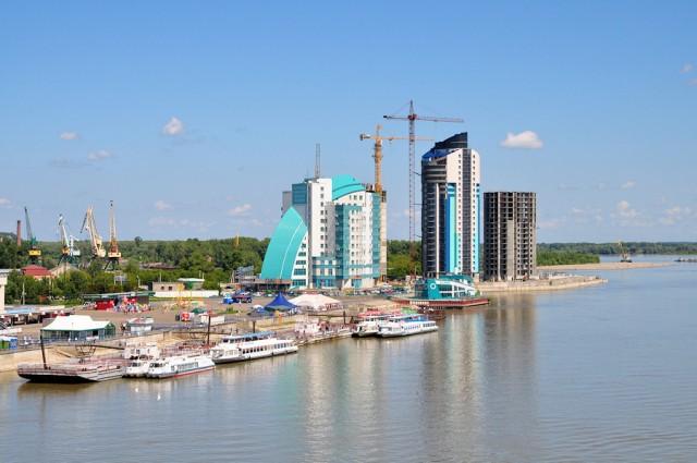 Вид с нового моста