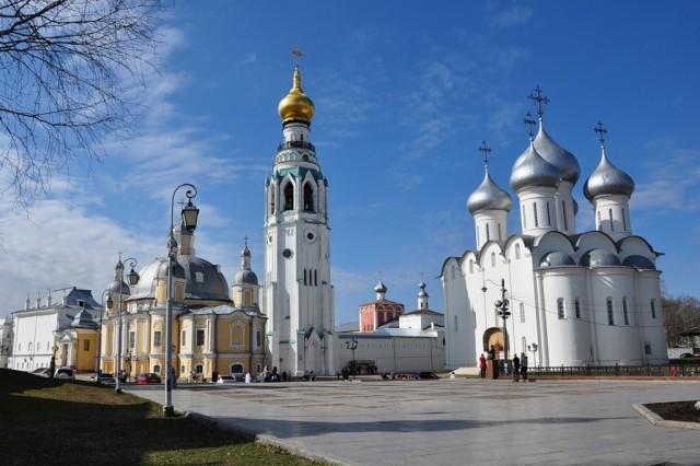 Вологодский Кремль и Софийский собор