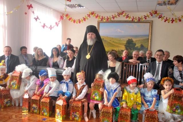 Воспитаники православного детского сада