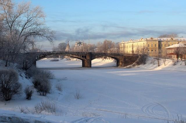Зимняя Вологда