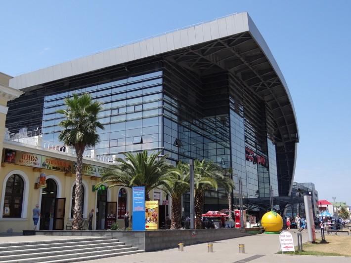 Новый ЖД вокзал в Сочи