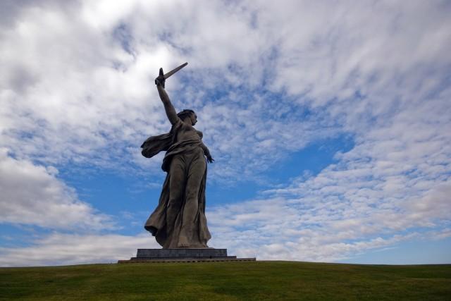 Символ Волгограда — Мамаев Курган