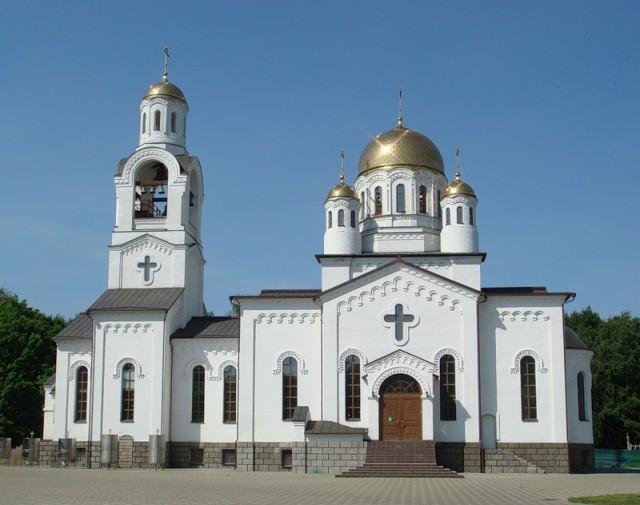 Новая церковь Богоявления Господня в Новых Химках
