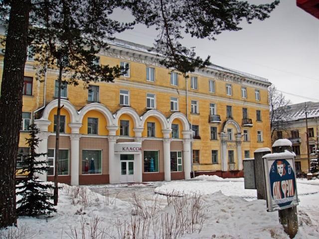 Типичный жилой дом района Старый Город