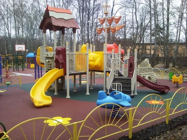 Детская площадка в Парке Культуры