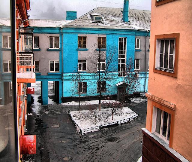 Двор в Центральном районе