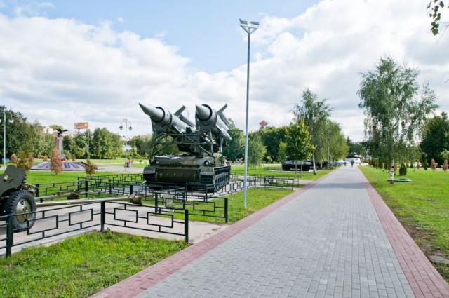Сквер имени Марии Рубцовой