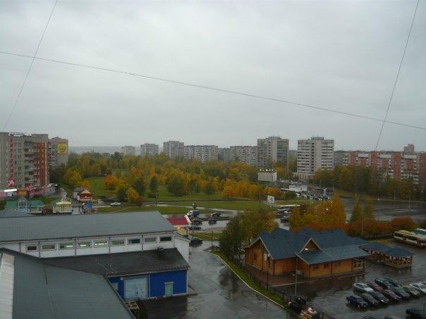 Вид на проспект Победы (Заречье, Череповец)