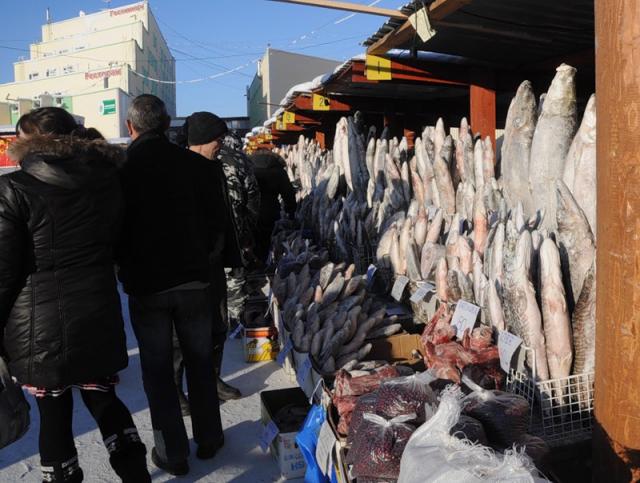Рынок в Хабаровске: рыба - главное богатство