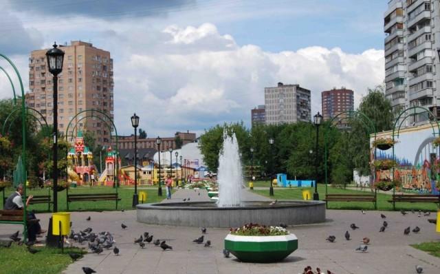 Химкинский «Арбат» - пешеходная зона в Новых Химках