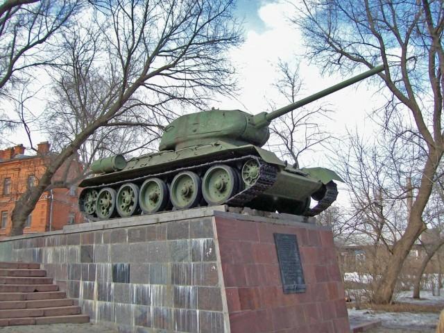 Т-34 в Пензе