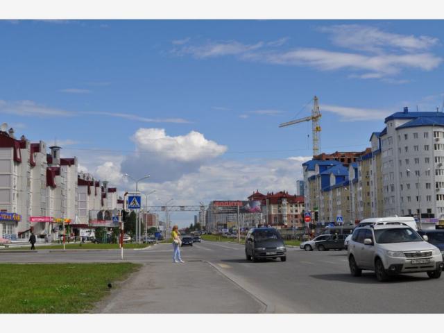 Нижневартовск. Улица Ленина