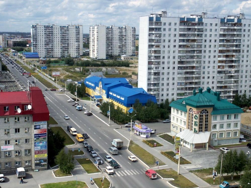 Нижневартовск. Улица Мира