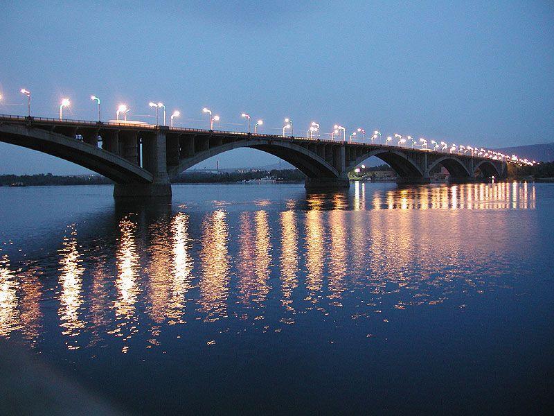 Пролет моста рухнул в Красноярском крае, есть - НТВ