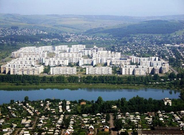 Новокузнецк. Новобайдаевка