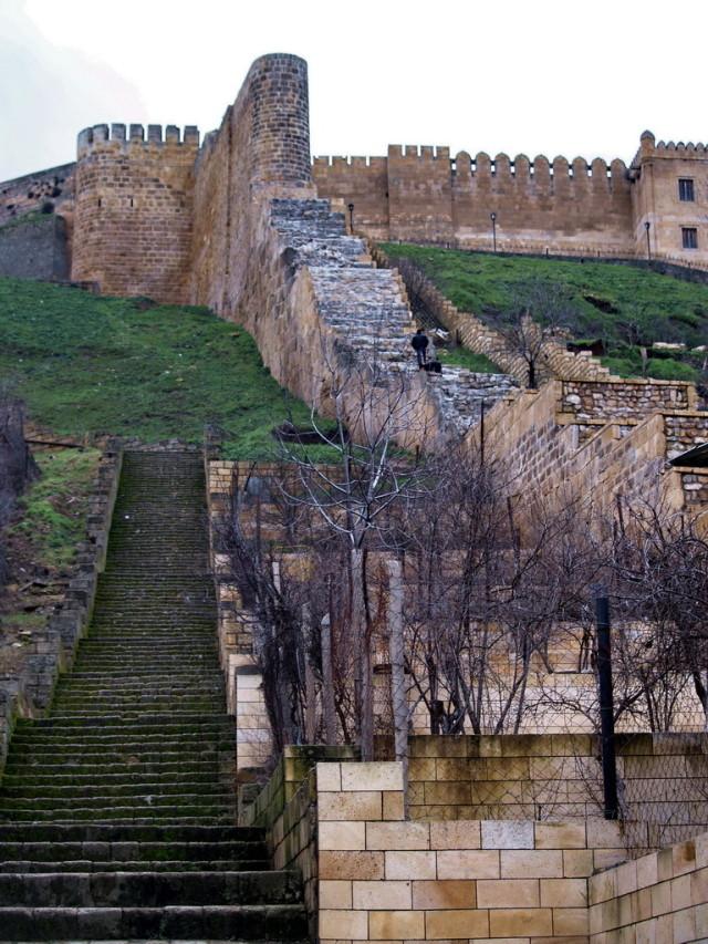 Ступени к крепости
