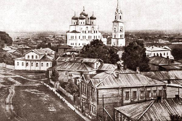 Конец 19 века, улица Спасская