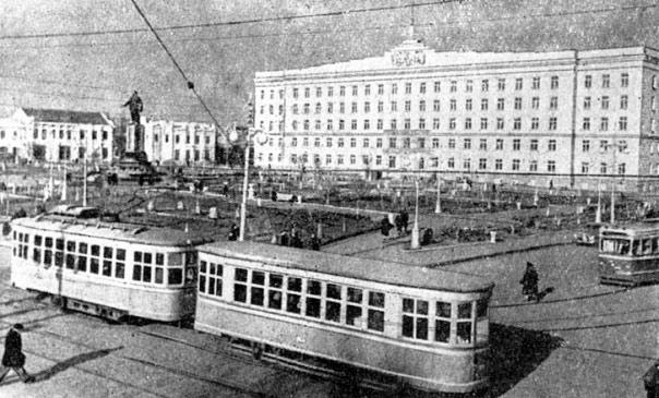 Так выглядел город в прошлом