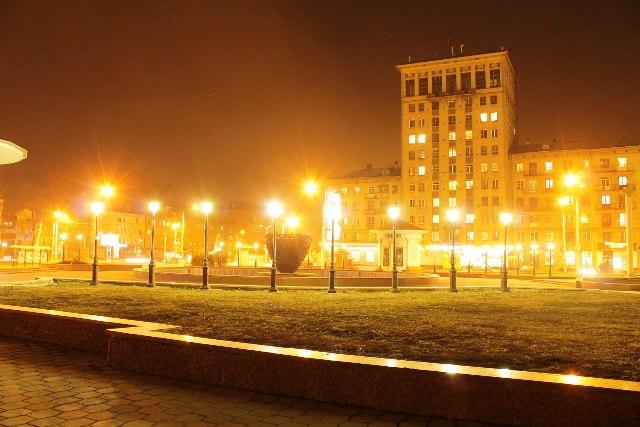 Центральный район Новокузнецка. Театральная площадь