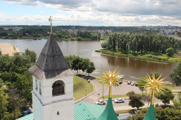 Звонница Спасо-Преображенского монастыря