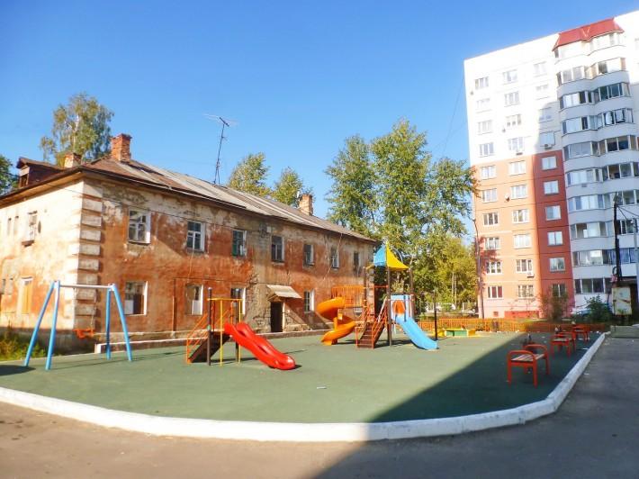 Соседство старого и нового