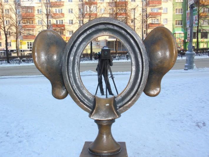 """Памятник """"Соленые уши"""""""
