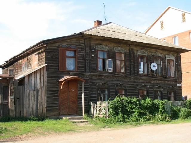 Типичный дом Заречного