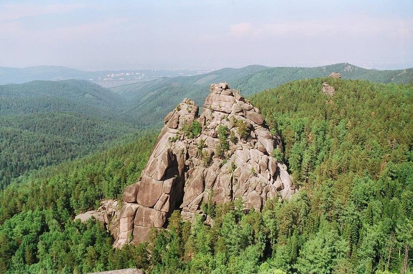 Первый столб, Красноярск