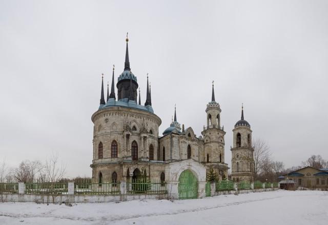 Быково. Церковь Владимирской иконы Божией Матери