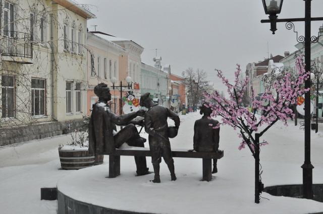 Елец зимой