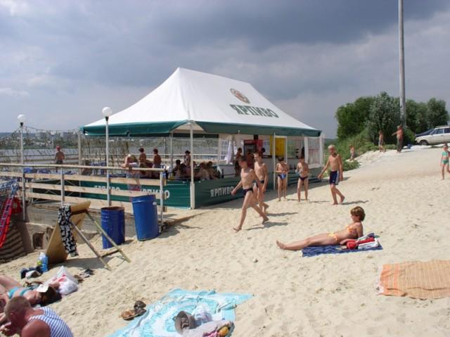 Камышинский пляж