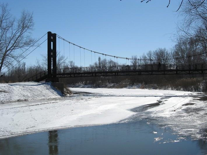 Мост через реку Алей