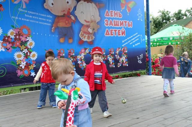 Первое июня юный Краснодар встречает в парках. Праздничные концерты, хороводы, аттракционы бесплатно