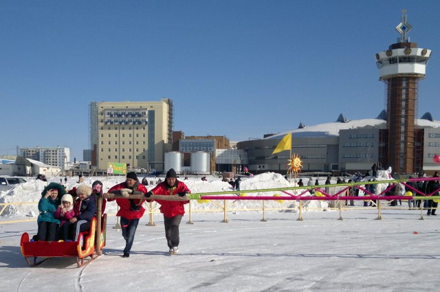 Проводы Зимы в Якутске