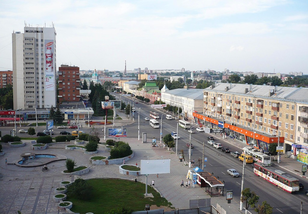 тула город фото