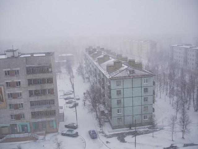 Зима в Северодвинске