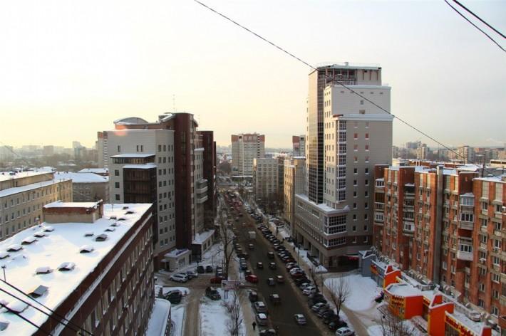 Зимняя Пермь