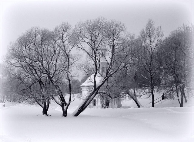 Зима в Сергиевом Посаде