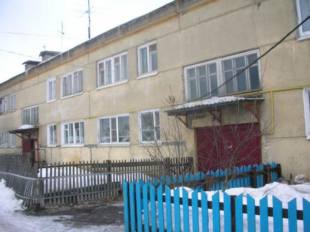 Один из домов на Гражданке. Зимой там особенно тихо