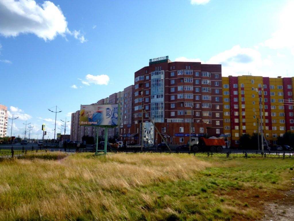 Взгляните на состояние фасадов домов