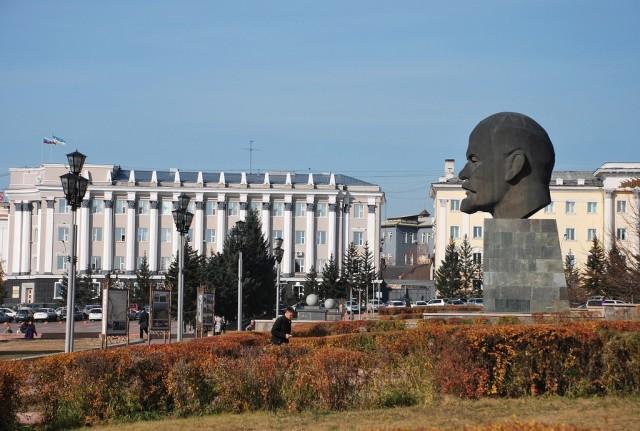 Памятник Ленину в Улан-Удэ